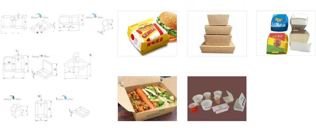 快餐盒成型机
